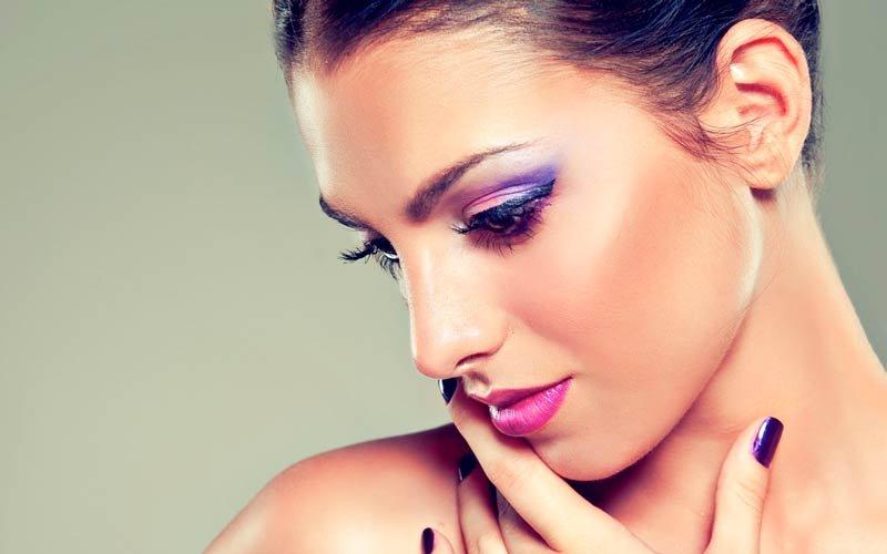 фиолетовый макияж - тренды осени с Beauty Story