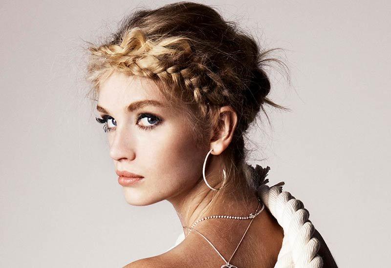 классические косы - тренды Beauty Story
