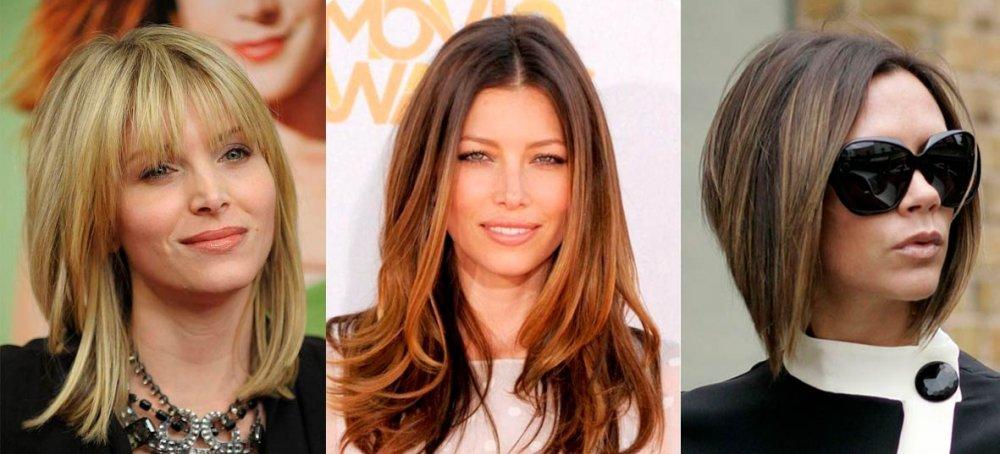 """Причёски для """"овала"""" по совету Beauty Story"""