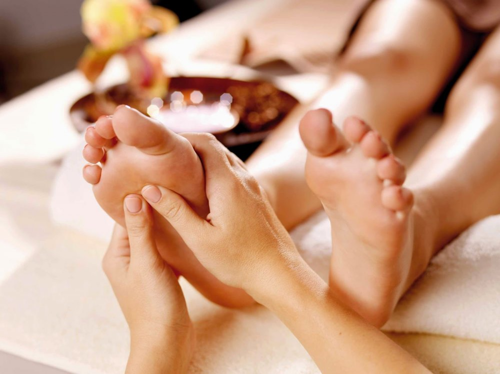 Фруктовый спа уход для ног