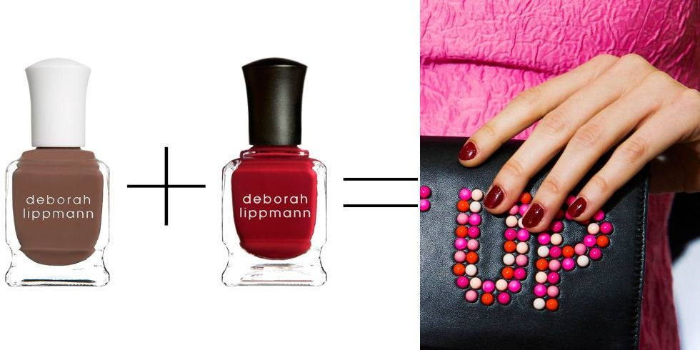 "Лаковые тренды 2015: ""nail layering"""