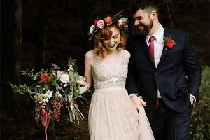 Мировые тренды в свадебных прическах
