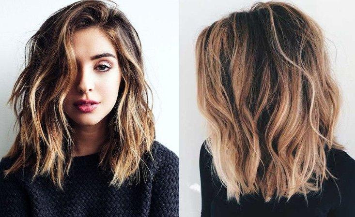 Стрижки и цвет волос: тренды-2018