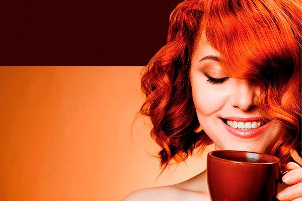 Укладання волосся і ранкова кава в салоні краси