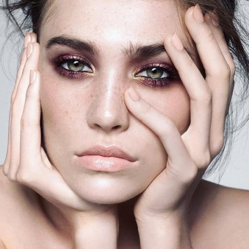 небрежный smoky eyes - тренды осени с Beauty Story