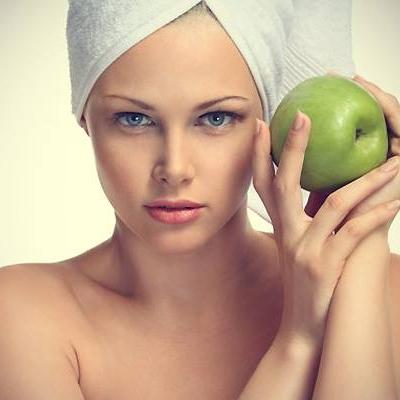 Пилинг с яблочной кислотой для Овнов