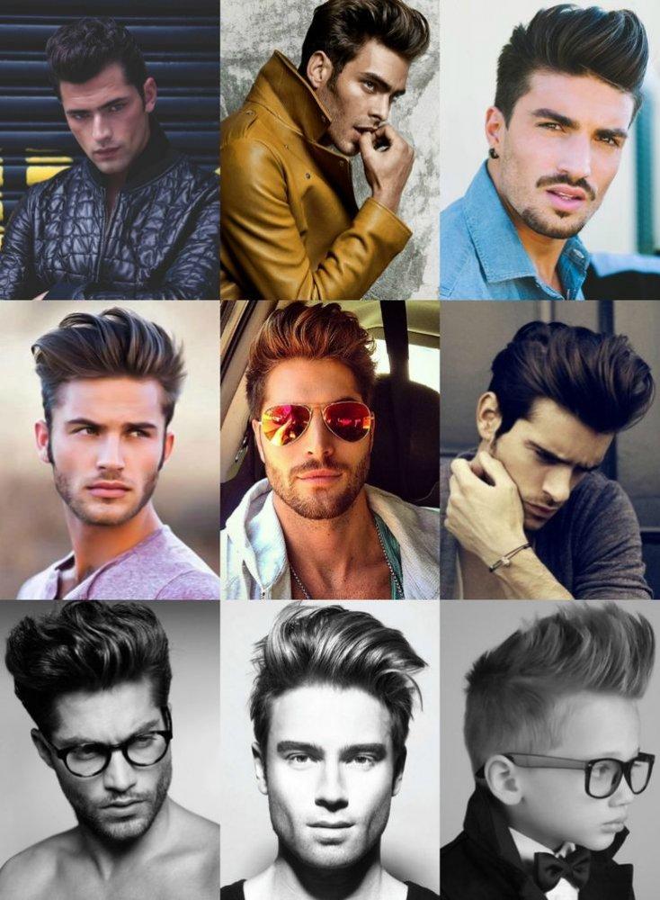 Модні чоловічі зачіски в стилі 50-х