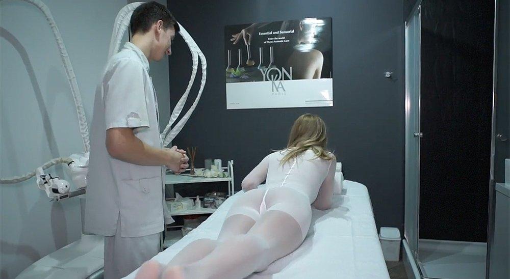 Коррекция фигуры на аппарате ICOONE в салоне красоты и СПА Beauty Story